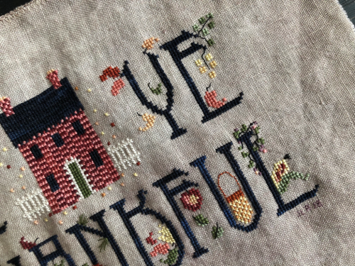 Be Ye Thankful CE Cricket #crossstitch #cecricket #thanksgiving #beyethankful